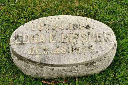 HIPSHER, EDNA E - Richland County, Ohio | EDNA E HIPSHER - Ohio Gravestone Photos