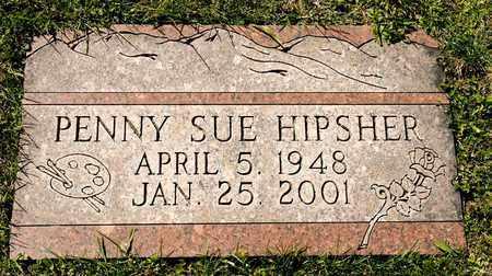 HIPSHER, PENNY SUE - Richland County, Ohio   PENNY SUE HIPSHER - Ohio Gravestone Photos