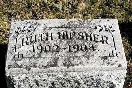 HIPSHER, RUTH - Richland County, Ohio   RUTH HIPSHER - Ohio Gravestone Photos