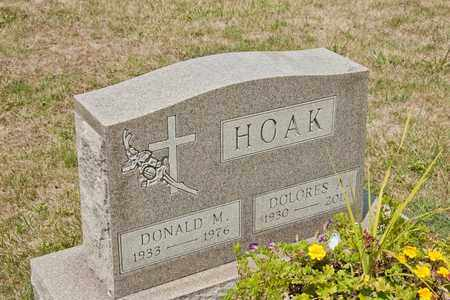 HOAK, DOLORES A - Richland County, Ohio | DOLORES A HOAK - Ohio Gravestone Photos
