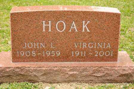 HOAK, VIRGINIA - Richland County, Ohio | VIRGINIA HOAK - Ohio Gravestone Photos