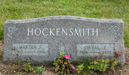 HOCKENSMITH, MARTHA E - Richland County, Ohio | MARTHA E HOCKENSMITH - Ohio Gravestone Photos
