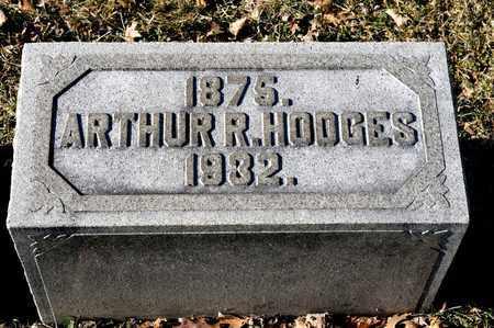 HODGES, ARTHUR R - Richland County, Ohio   ARTHUR R HODGES - Ohio Gravestone Photos