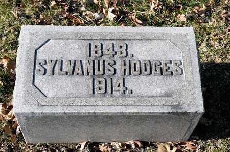 HODGES, SYLVANUS - Richland County, Ohio   SYLVANUS HODGES - Ohio Gravestone Photos