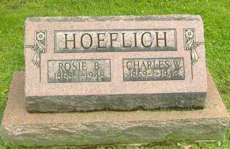 HOEFLICH, CHARLES W. - Richland County, Ohio   CHARLES W. HOEFLICH - Ohio Gravestone Photos