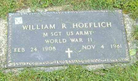 HOEFLICH, WILLIAM R. - Richland County, Ohio | WILLIAM R. HOEFLICH - Ohio Gravestone Photos