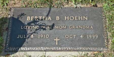 HOEHN, BERTHA B - Richland County, Ohio | BERTHA B HOEHN - Ohio Gravestone Photos