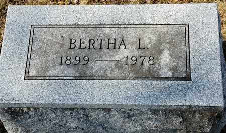 HOFFMAN, BERTHA L - Richland County, Ohio | BERTHA L HOFFMAN - Ohio Gravestone Photos