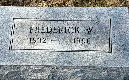 HOFFMAN, FREDERICK W - Richland County, Ohio | FREDERICK W HOFFMAN - Ohio Gravestone Photos