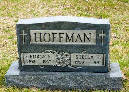HOFFMAN, GEORGE F - Richland County, Ohio | GEORGE F HOFFMAN - Ohio Gravestone Photos
