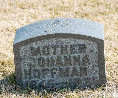 HOFFMAN, JOHANNA - Richland County, Ohio | JOHANNA HOFFMAN - Ohio Gravestone Photos