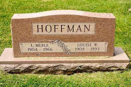 HOFFMAN, L MERLE - Richland County, Ohio | L MERLE HOFFMAN - Ohio Gravestone Photos