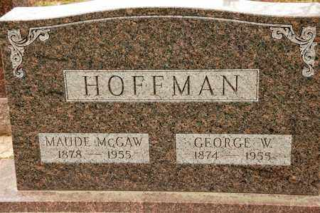 HOFFMAN, GEORGE W - Richland County, Ohio | GEORGE W HOFFMAN - Ohio Gravestone Photos