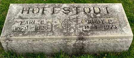 HOFFSTODT, EARL C - Richland County, Ohio   EARL C HOFFSTODT - Ohio Gravestone Photos