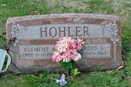 HOHLER, CLEMENT A - Richland County, Ohio | CLEMENT A HOHLER - Ohio Gravestone Photos