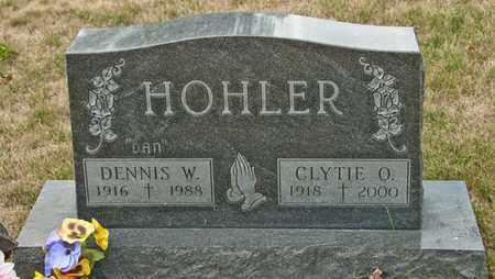 HOHLER, CLYTIE O - Richland County, Ohio | CLYTIE O HOHLER - Ohio Gravestone Photos
