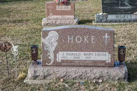 HOKE, J HAROLD - Richland County, Ohio | J HAROLD HOKE - Ohio Gravestone Photos