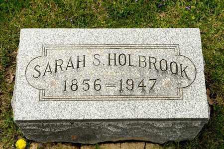 HOLBROOK, SARAH S - Richland County, Ohio | SARAH S HOLBROOK - Ohio Gravestone Photos