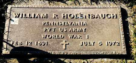 HOLENBAUGH, WILLIAM R - Richland County, Ohio | WILLIAM R HOLENBAUGH - Ohio Gravestone Photos
