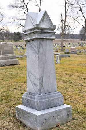 HOLGATE, ELIZABETH LOUISE - Richland County, Ohio | ELIZABETH LOUISE HOLGATE - Ohio Gravestone Photos