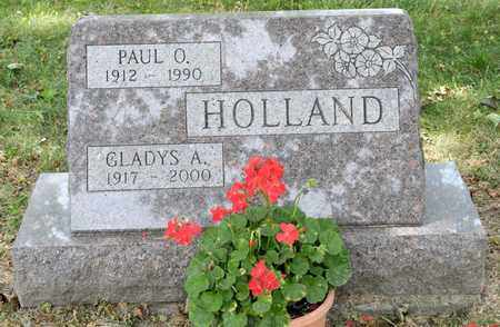 HOLLAND, GLADYS A - Richland County, Ohio | GLADYS A HOLLAND - Ohio Gravestone Photos