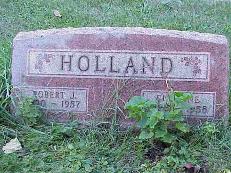 HOLLAND, ROBERT J. - Richland County, Ohio | ROBERT J. HOLLAND - Ohio Gravestone Photos