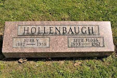 HOLLENBAUGH, BURR V - Richland County, Ohio | BURR V HOLLENBAUGH - Ohio Gravestone Photos