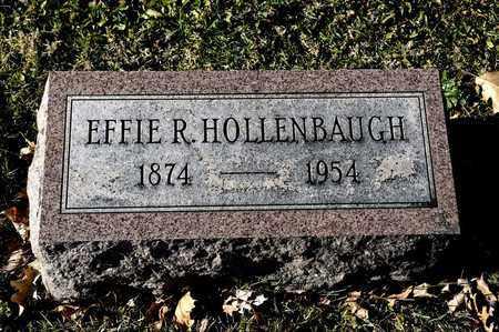 HOLLENBAUGH, EFFIE R - Richland County, Ohio | EFFIE R HOLLENBAUGH - Ohio Gravestone Photos