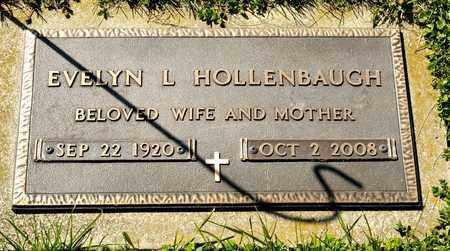 HOLLENBAUGH, EVELYN L - Richland County, Ohio | EVELYN L HOLLENBAUGH - Ohio Gravestone Photos