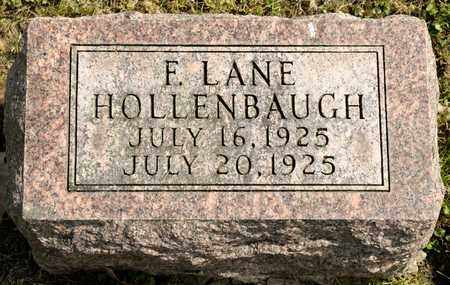 HOLLENBAUGH, F LANE - Richland County, Ohio | F LANE HOLLENBAUGH - Ohio Gravestone Photos