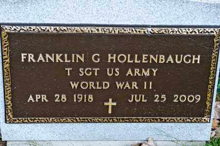 HOLLENBAUGH, FRANKLIN G - Richland County, Ohio | FRANKLIN G HOLLENBAUGH - Ohio Gravestone Photos