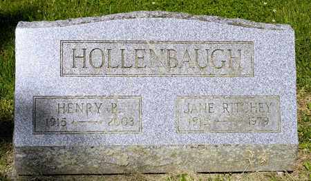 RITCHEY HOLLENBAUGH, JANE - Richland County, Ohio | JANE RITCHEY HOLLENBAUGH - Ohio Gravestone Photos