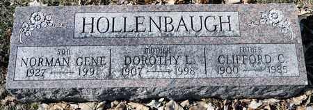 HOLLENBAUGH, CLIFFORD C - Richland County, Ohio | CLIFFORD C HOLLENBAUGH - Ohio Gravestone Photos