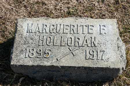 HOLLORAN, MARGUERITE F - Richland County, Ohio | MARGUERITE F HOLLORAN - Ohio Gravestone Photos