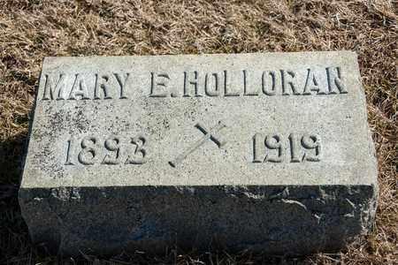 HOLLORAN, MARY E - Richland County, Ohio | MARY E HOLLORAN - Ohio Gravestone Photos