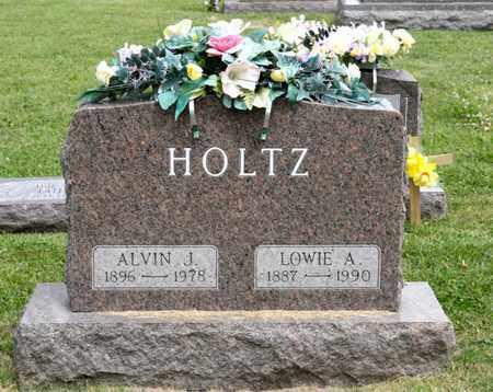 HOLTZ, LOWIE A - Richland County, Ohio   LOWIE A HOLTZ - Ohio Gravestone Photos