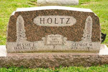 HOLTZ, GEORGE M - Richland County, Ohio | GEORGE M HOLTZ - Ohio Gravestone Photos