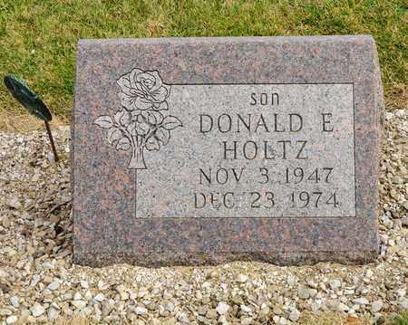 HOLTZ, DONALD E - Richland County, Ohio | DONALD E HOLTZ - Ohio Gravestone Photos