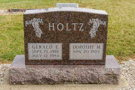 HOLTZ, GERALD E - Richland County, Ohio | GERALD E HOLTZ - Ohio Gravestone Photos