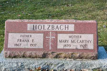 MCCARTHY HOLZBACH, MARY - Richland County, Ohio | MARY MCCARTHY HOLZBACH - Ohio Gravestone Photos