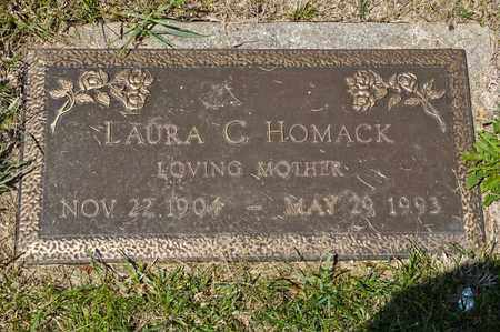 HOMACK, LAURA C - Richland County, Ohio | LAURA C HOMACK - Ohio Gravestone Photos