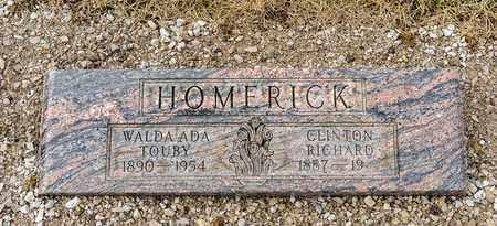 HOMERICK, WALDA ADA - Richland County, Ohio | WALDA ADA HOMERICK - Ohio Gravestone Photos