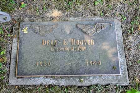HOOVER, DEAN E - Richland County, Ohio | DEAN E HOOVER - Ohio Gravestone Photos