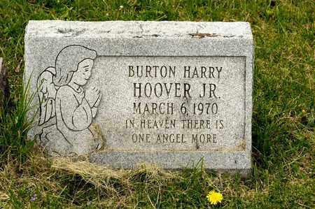 HOOVER JR, BURTON HARRY - Richland County, Ohio | BURTON HARRY HOOVER JR - Ohio Gravestone Photos