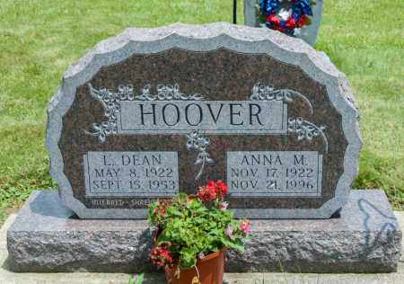HOOVER, ANNA M - Richland County, Ohio | ANNA M HOOVER - Ohio Gravestone Photos