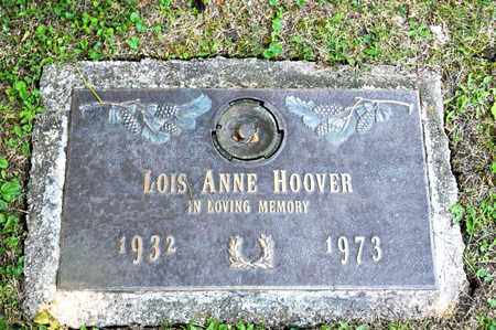HOOVER, LOIS ANNE - Richland County, Ohio | LOIS ANNE HOOVER - Ohio Gravestone Photos