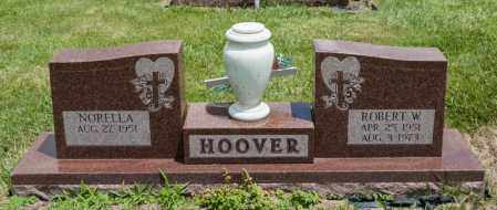 HOOVER, ROBERT W - Richland County, Ohio | ROBERT W HOOVER - Ohio Gravestone Photos