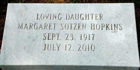 HOPKINS, MARGARET - Richland County, Ohio   MARGARET HOPKINS - Ohio Gravestone Photos