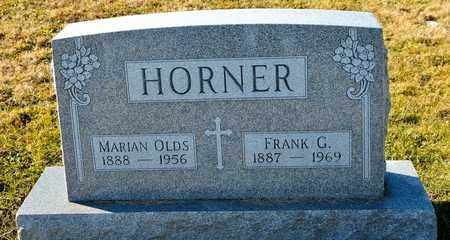 OLDS HORNER, MARIAN - Richland County, Ohio | MARIAN OLDS HORNER - Ohio Gravestone Photos