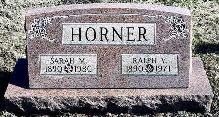 HORNER, RALPH V - Richland County, Ohio | RALPH V HORNER - Ohio Gravestone Photos